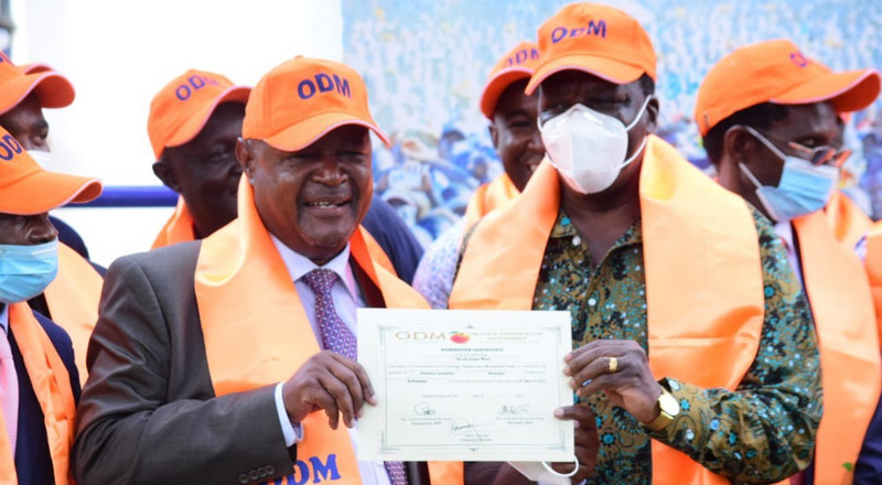 ODM announces former MP as candidate for Matungu by-election