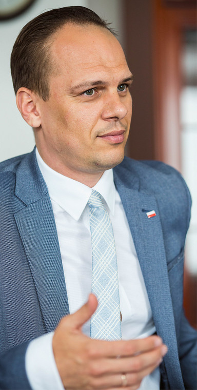 Rafał Weber, wiceminister infrastruktury