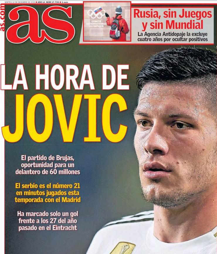 La hora de Jovic