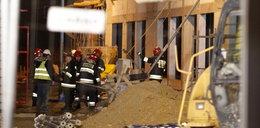 Zawalił się strop budowanej hali. 4 osoby ranne