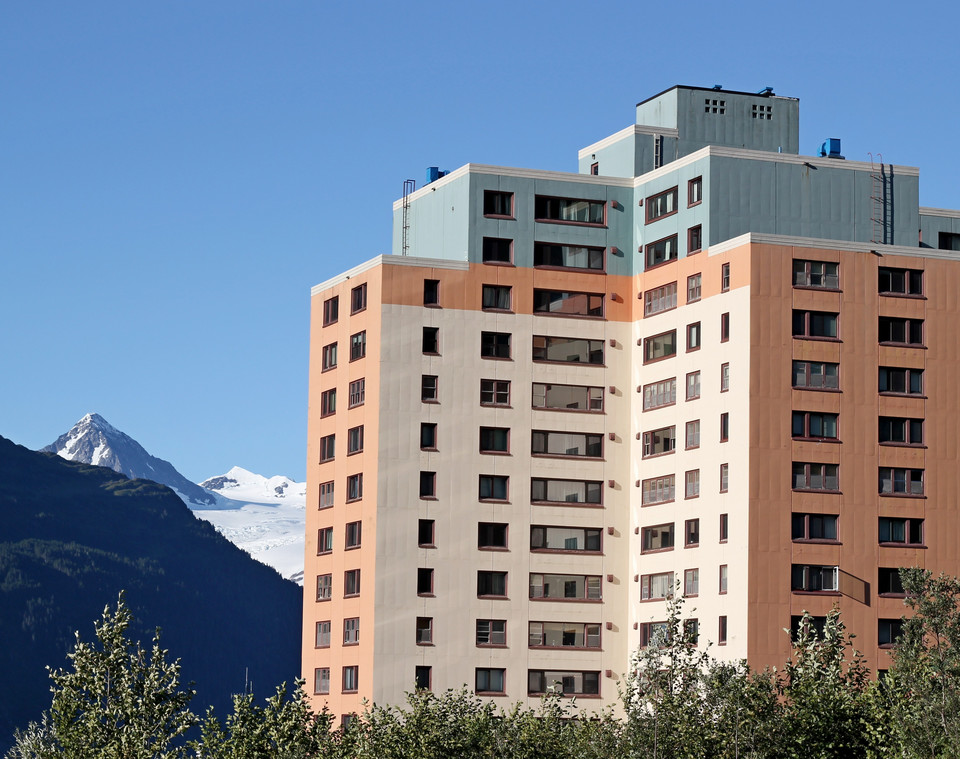 Begich Towers, Whittier