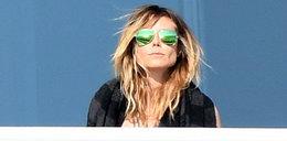 Heidi Klum przyłapana topless w Miami. Gorące zdjęcia