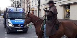 Dziki zachód w Kielcach. Szeryf dorwał kowboja
