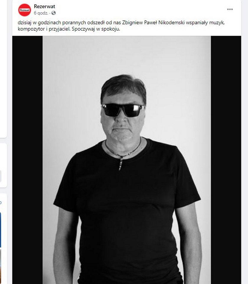 Paweł Nikodemski nie żyje
