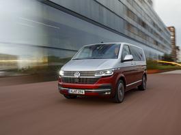 Volkswagen Multivan 6.1 - więcej bezpieczeństwa i nowe multimedia