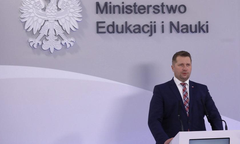 Przemysław Czarnek, minister edukacji i nauki/