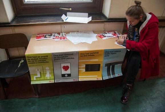 Popunjavanje podataka pre davanja krvi