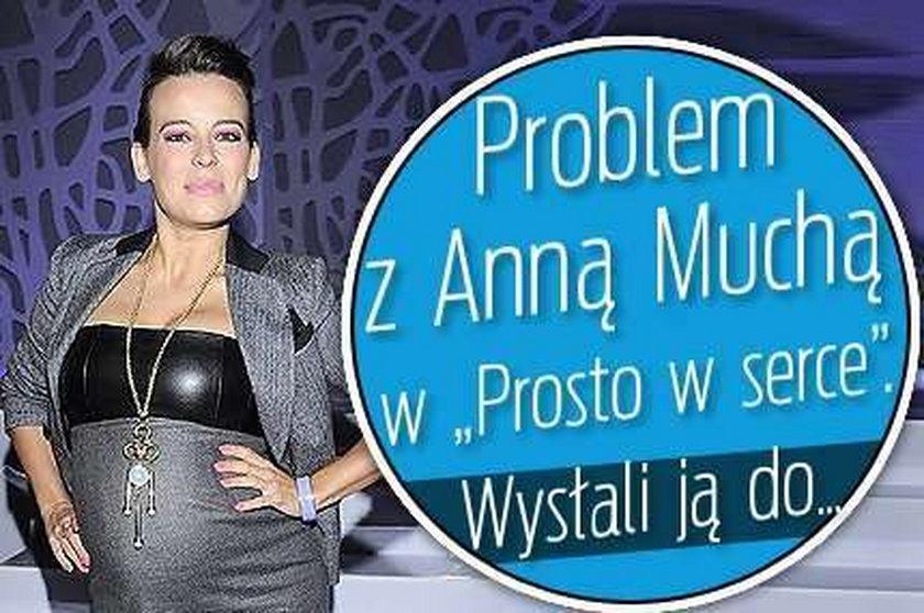 """Problem z Muchą w """"Prosto w serce"""". Wysłali ją do..."""