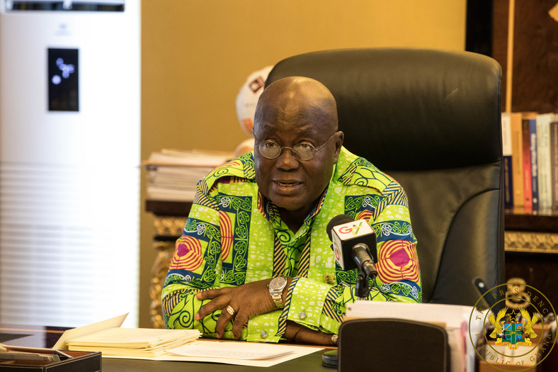 President Akufo-Addo addresses the nation after giving assent-to the RTI Act