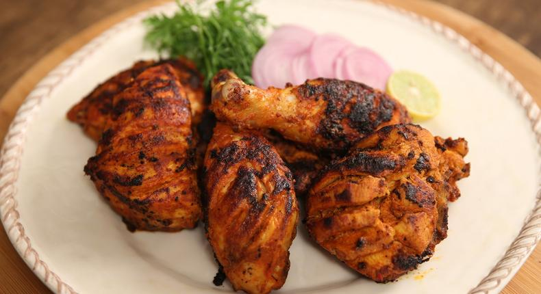 Tandoori is great with french fries, masala or naan'.