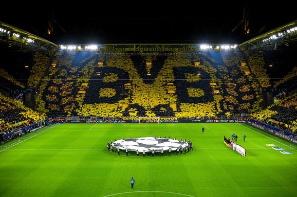 Atmosfera na Signal Iduna Parku: Žuti zid nikada ne razočara