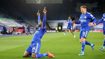 A goal and an assist, ruthless Kelechi Iheanacho on song again