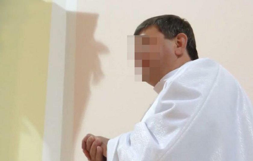 Ksiądz Piotr  był opiekunem pielgrzymki do Wilna