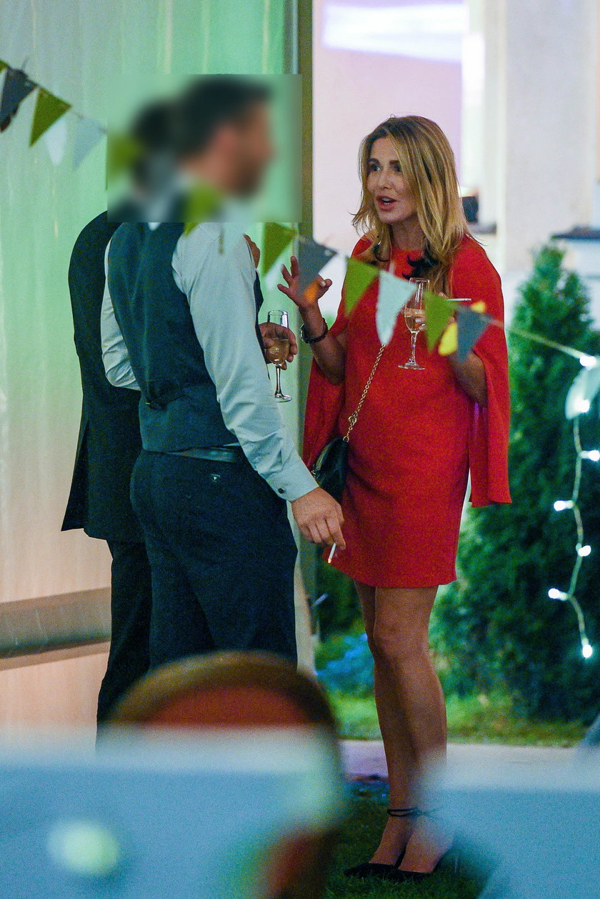 Hanna Lis na ślubie Małgorzaty Rozenek