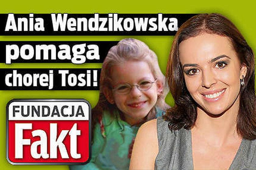 Fundacja Faktu i Ania Wendzikowska proszą o pomoc dla chorej dziewczynki!
