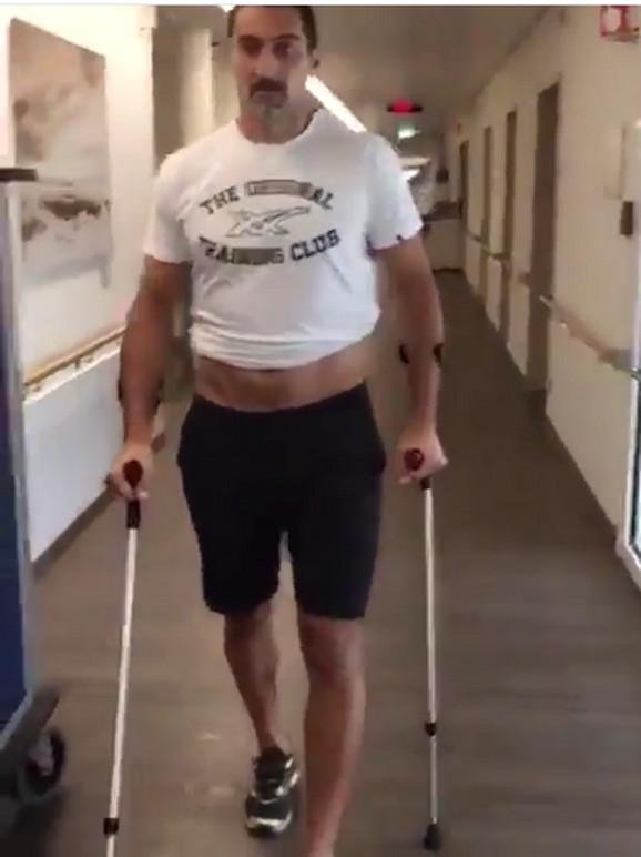 Nenad Zimonjić je ugradio oba veštačka kuka