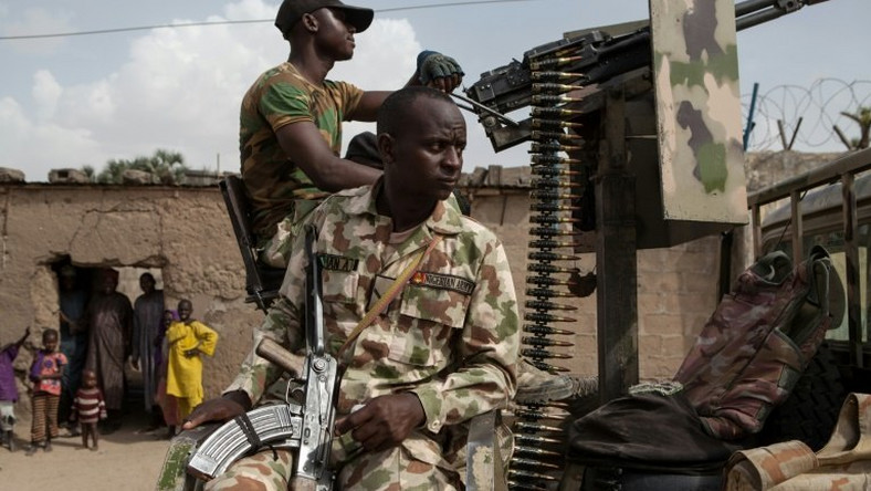 Nigerian soldiers have been battling a Boko Haram insurgency since 2009