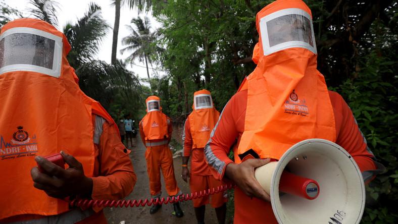 Służby zajmujące się ewakuacją ludności