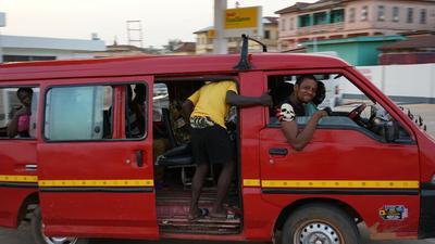 Trotro drivers using Pokuase Interchange as lorry station sacked