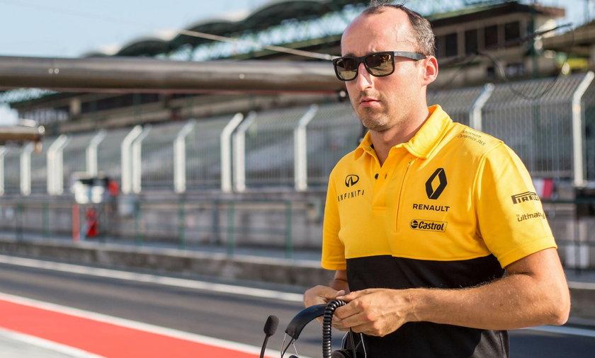 Robert Kubica testy F1