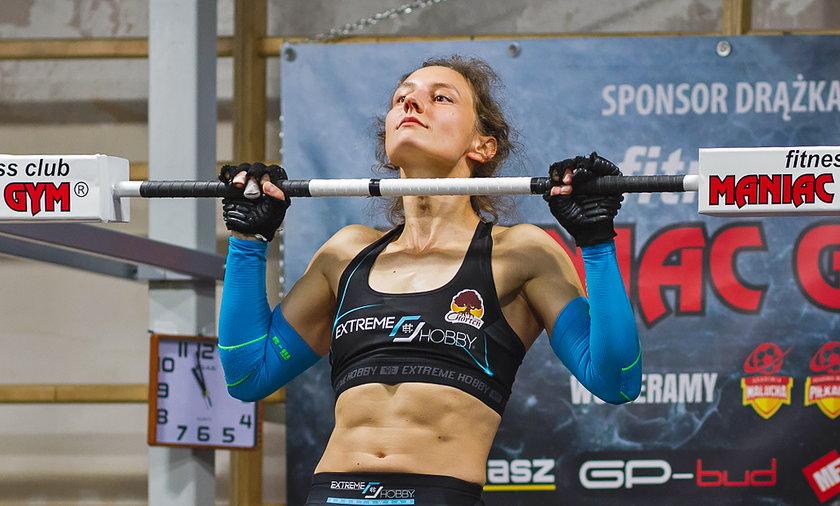 Paula Gorlo pobiła rekord świata w podciąganiu się na drążku.