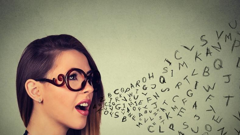 Alfabet. Słownictwo. Język. Mowa