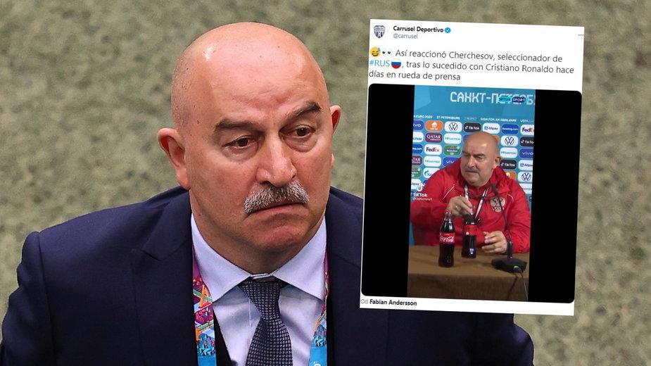 Stanisław Czerczesow nawiązał do Cristiano Ronaldo
