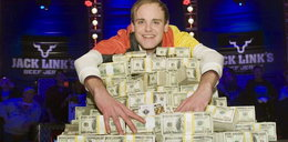 O skubany! Wygrał w pokera 8,7 mln $