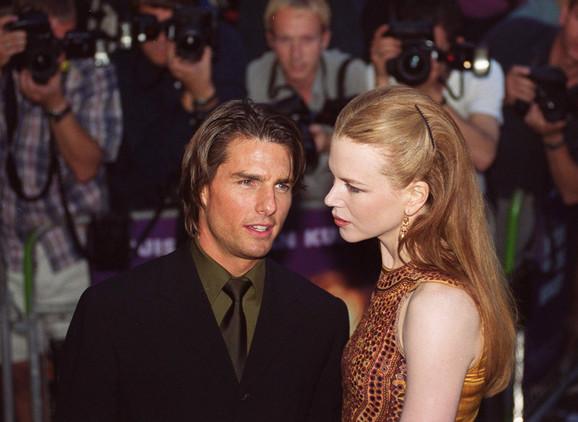 Nikol Kidman i Tom Kruz 1999.
