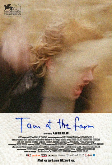 """Tom at the Farm"" (reż. Xavier Dolan) - plakat"