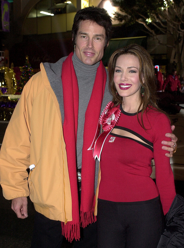 Ronn Moss i Hunter Tylo, 2000 r.