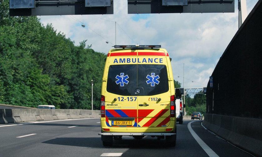 Spadający trójnóg przebił weteranowi płuco