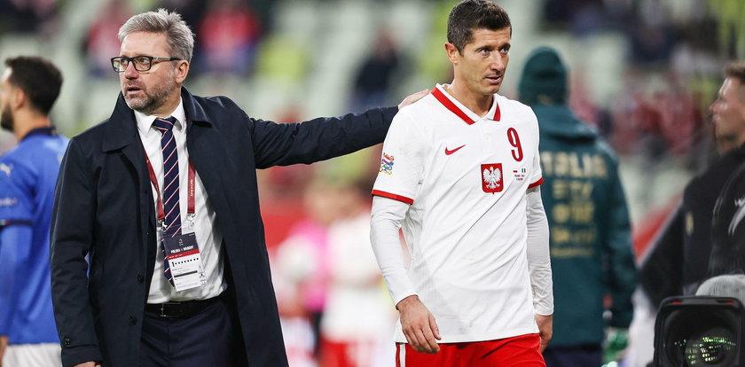 Lewandowski zszedł z boiska. Co dolega kapitanowi reprezentacji?