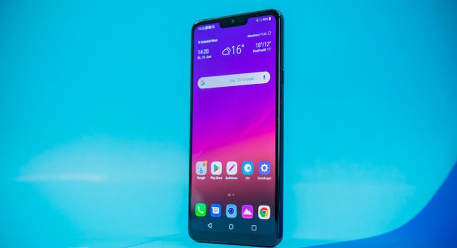 Top-Smartphone LG G7 Thinq im Test: klug, hell und laut