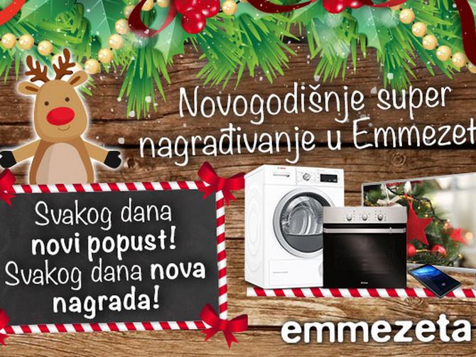 Velika nagradna igra: Novogodišnje super nagrađivanje u Emmezeti!