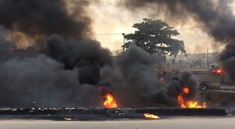 Another fire incident in Lagos as tanker explosion rocks Otedola bridge again