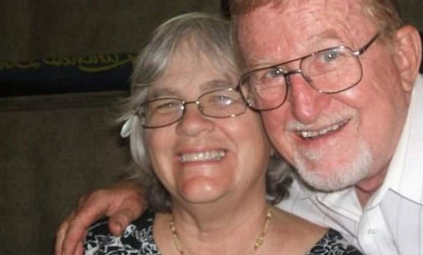 76-letni Alva i 74-letnia Alberta Pillliodowie