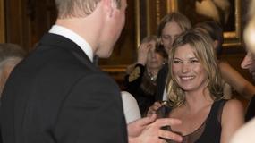 Książę William oczarował Kate Moss