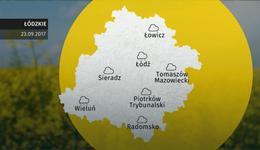 Prognoza pogody dla woj. łódzkiego – 23.09