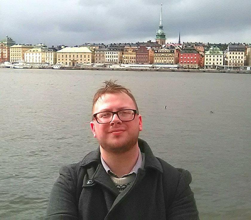 23-letni Ben Cronin ze Szwecji