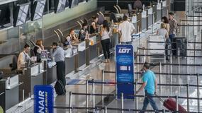 Pasażer zażartował na lotnisku. Zatrzymała go policja