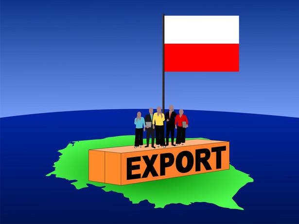 Eksport Polski. graf. Shutterstock