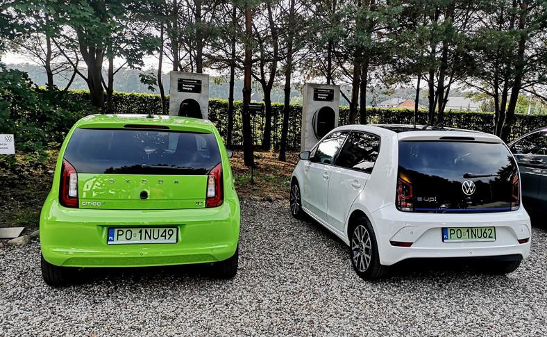 Skoda CITIGOe iV i Volkswagen e-up!