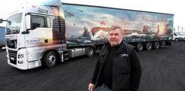 """ORP """"Orzeł"""" na ciężarówce. Tak pan Jaromir rozsławia polską historię"""