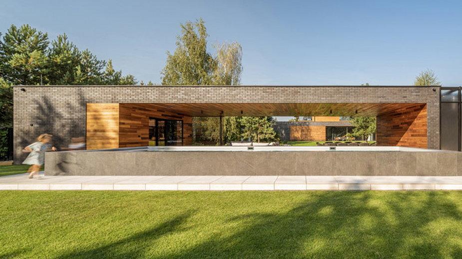 Dom na wsi z efektowną strefą SPA