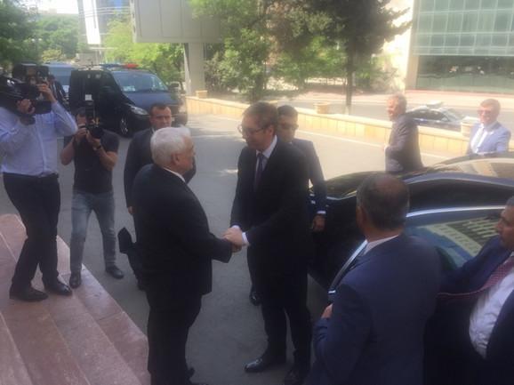 Aleksandar Vučić i Kemal Abdulajev