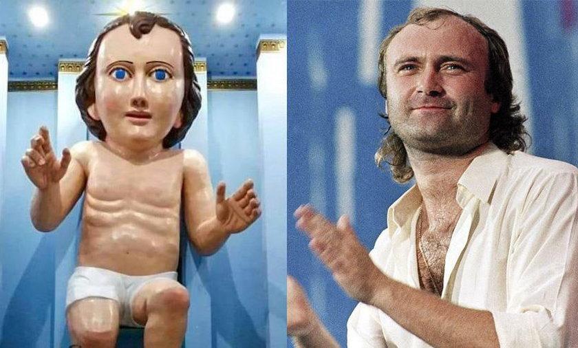 Jezus czy Phil Collins?