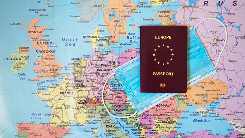 Europa podróż koronawirus paszport