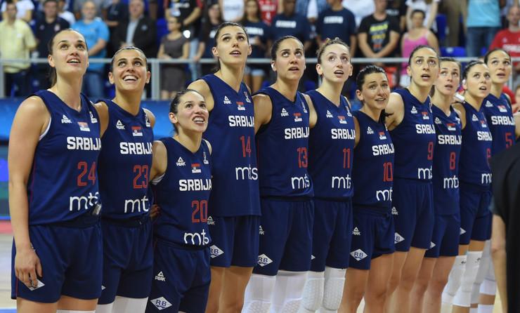 Ženska košarkaška reprezentacija Srbije, Belgije, Košarkašice Srbije