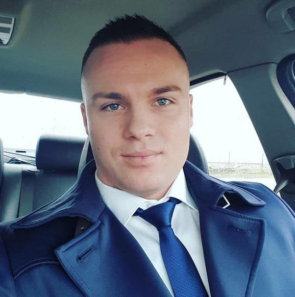 Dušan Milenković, uhapšen sa bratom makroom